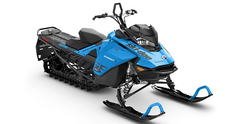New 2020 Ski-Doo Summit® SP Rotax® 850R E-TEC® 154 SS PowderMax L. 3.0 Blue Crossover